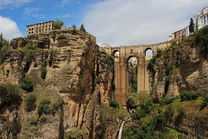 La ville de Ronda en Andalousie (Espagne)