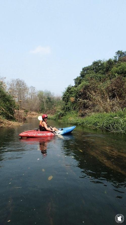 Kayaking Chiang Dao, Thaïlande