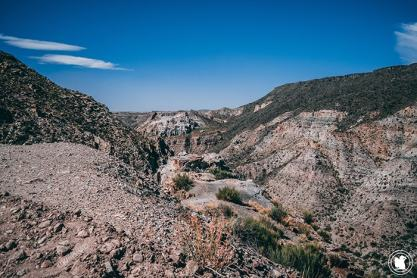 Début du Canyon Atuel à San Rafael