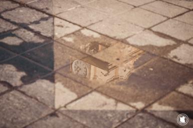 Le reflet de la cathédrale de Córdoba, Argentine