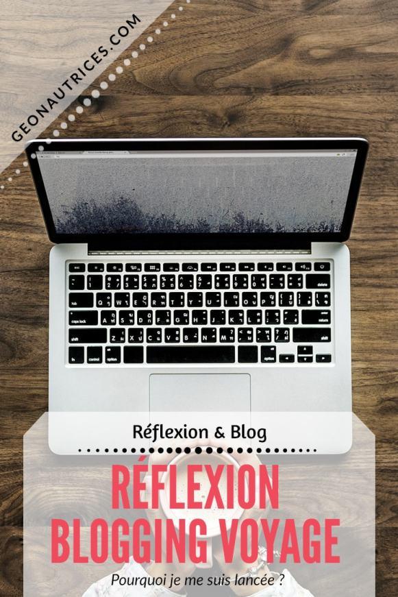 Réflexion sur le blogging voyage. Pourquoi je me suis lancée dans le blogging voyage, ce que ça m'apporte aujourd'hui, ce que je souhaite et j'espère transmettre à travers mon blog et mes écrits. #blogging #blog #voyage #blogvoyage