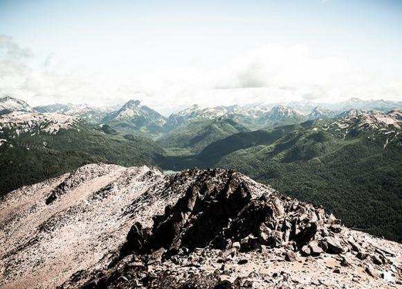 Cerro Falkner - route des 7 lacs