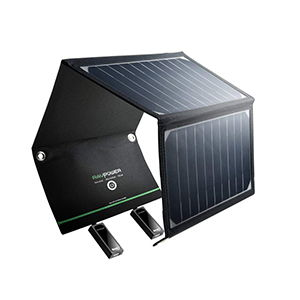 Chargeur solaire portable grand format