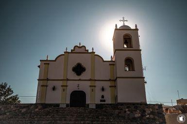 Eglise d'Angastaco entre Cafayate et Cachi