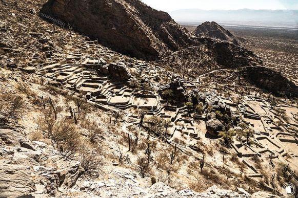 Les ruines de Quilmes, ancienne cité Incas