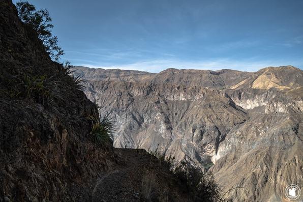 Sentier Canyon Colca
