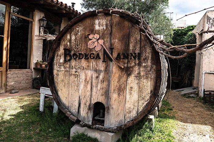 Bodega Nanni à Cafayate, petite visite de la cave et dégustations de vins bio