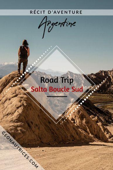 Récit de notre road trip de 3 jours dans le sud de Salta, au nord ouest de l'Argentine. Nous partageons dans l'article notre itinéraire, nos conseils, ce qu'il faut voir, où dormir, comment s'y prendre. Comment découvrir la quabrada de Cafayate ? On vous dit tout ! #salta #argentine #noa #roadtrip #voyage #cafayate