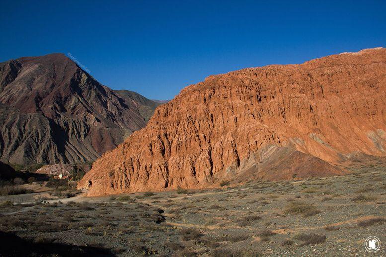 Les formations rocheuses autour de Purmamarca