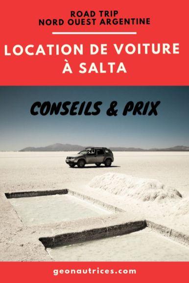 Comment louer une voiture à Salta pour faire un road trip dans le nord ouest argentin ? Voici nos conseils et une indication de prix . #argentine #salta #noa #locationvoiture #voyage