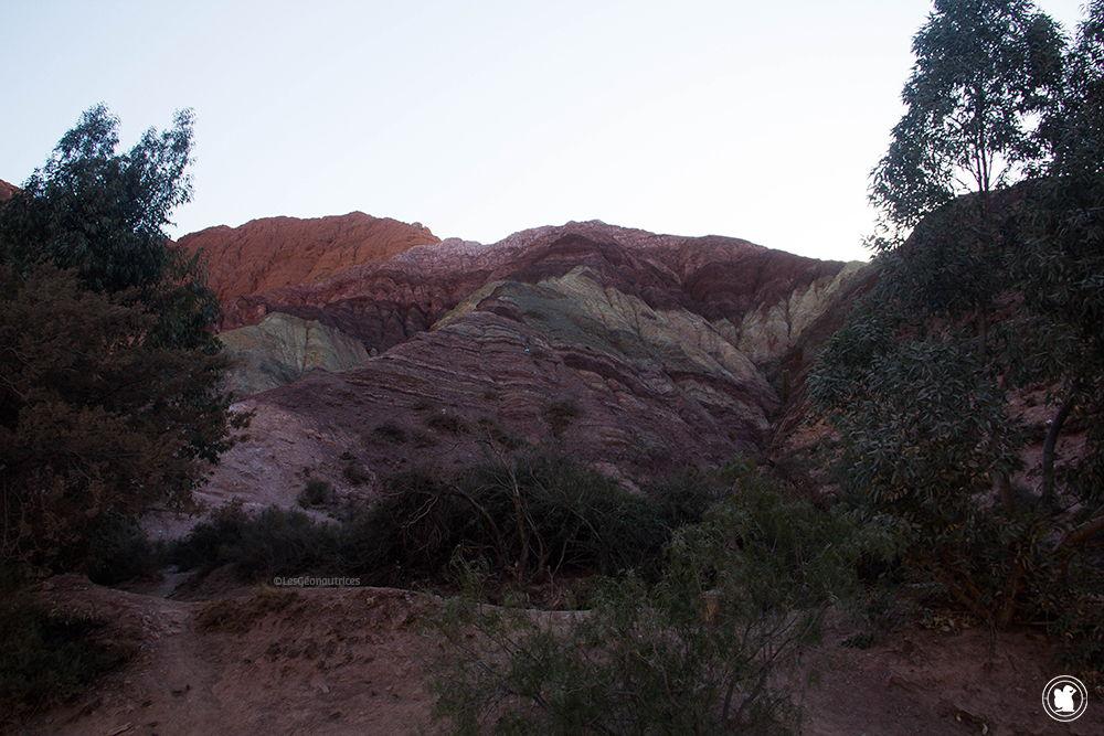 La montagne aux 7 couleurs à Purmamarca