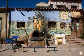Street art - Façade à Tilcara