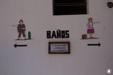 Toilettes à la Pucara de Tilcara