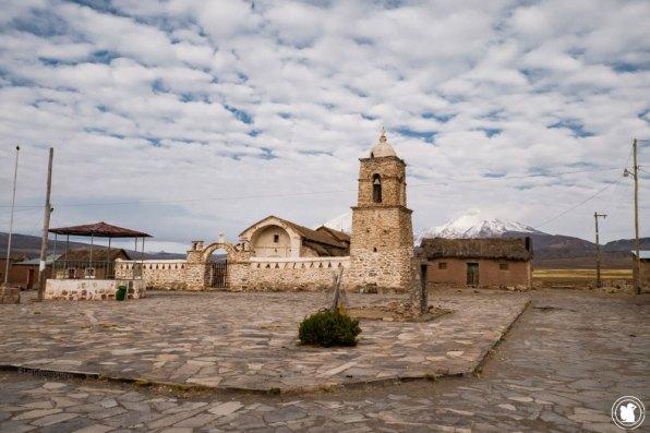 L'église du village de Sajama