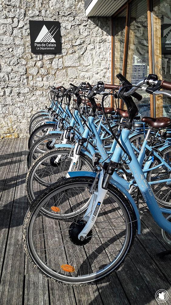 Vélos électriques de la maison du site des Deux Caps