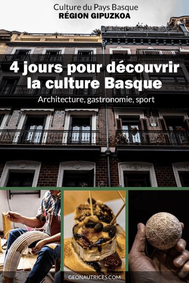 La culture au Pays Basque est importante. Qu'on parle gastronomie, pelote basque, architecture ou autre, les basques sont fiers de leur patrimoine et ils ont raison ! #paysbasque #espagne #culture