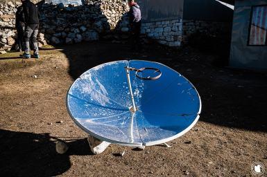 Trek des 3 cols - Technologie pour faire bouillir son eau dans les lodges ayant peu ou pas d'électricité