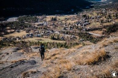 Trek Val d'Allos Enora matin du second jour