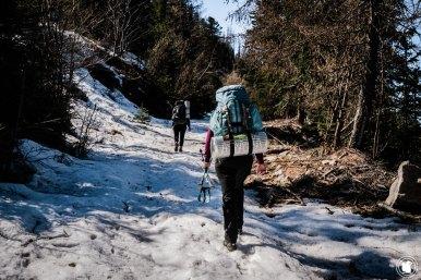 Trek Val d'Allos dans la neige