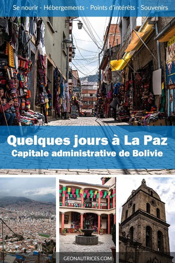 Vous prévoyez de passer quelques jours à La Paz, en Bolivie, prochainement ? Voici notre retour d'expérience dans cet article. Ce qu'il y a à voir et à faire, où manger, où dormir, etc. Tous les bons conseils. #Bolivie #Voyage #LaPaz #Citytrip