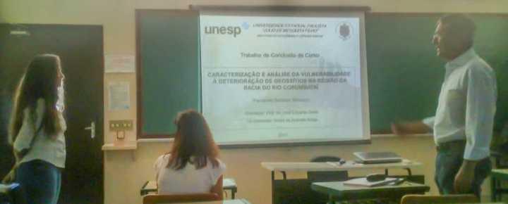 Apresentação da aluna Fernanda Bertuluci