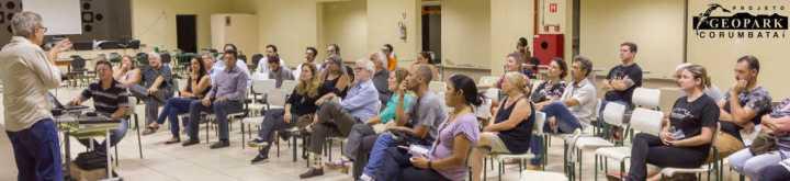 Público prestigiando a 2ª Edição da Caravana Geopark Corumbataí