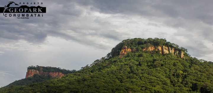 A Serra do Fazendão, que foi percorrida pelos ingressantes do curso de Geologia da UNESP Rio Claro