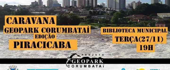 Reunião da Caravana Geopark Corumbataí acontece em Piracicaba no dia 27