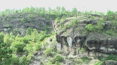 Geología Piedras Pintadas