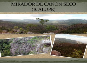 CAÑON SECO - ICALUPE