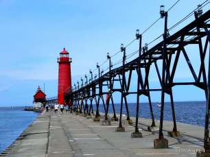 Grand Haven Light, Michigan