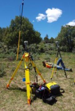 Equipment at Mines Geophysics field camp