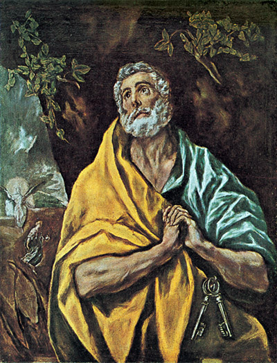 El Greco in Oslo: the inner light and inner life of the subject is made manifest.