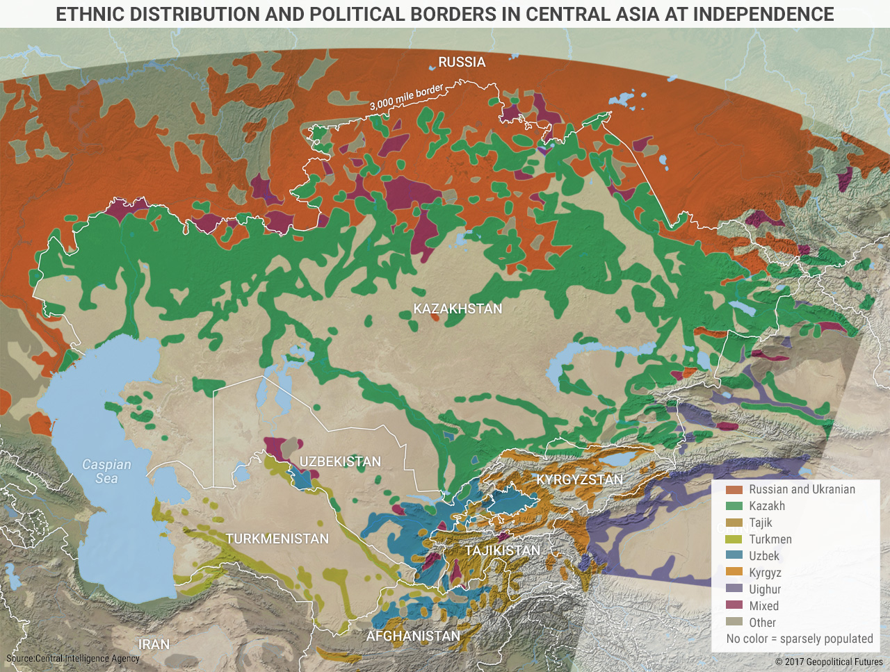 Geography Of Central Asia
