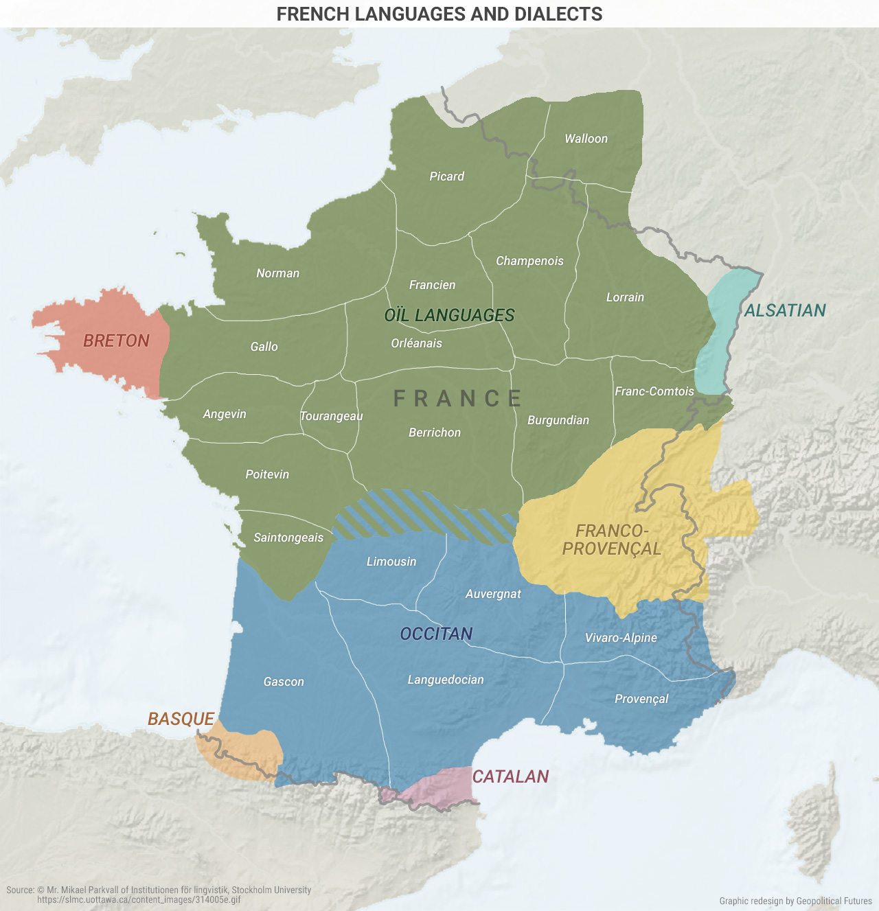 French Languages And Dialects