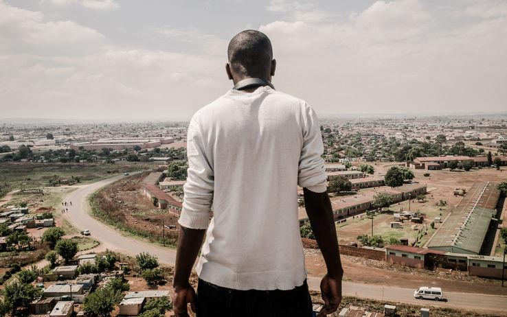 (Vista panoramica della township di Katlehong, Johannesburg - @Marco Casino)