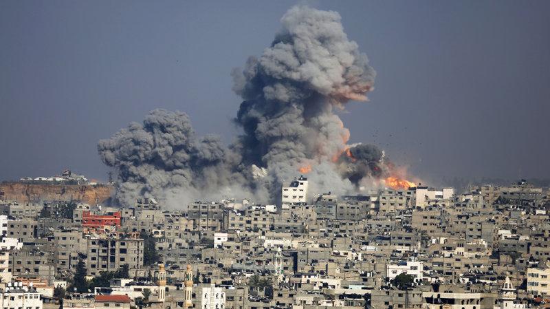 Israel bombing of the Gaza Strip.