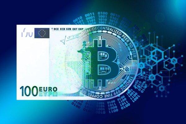 Euro numérique digital