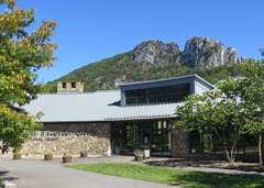 Seneca Rocks Visitor's Center was experiencing geotechnical foundation problems