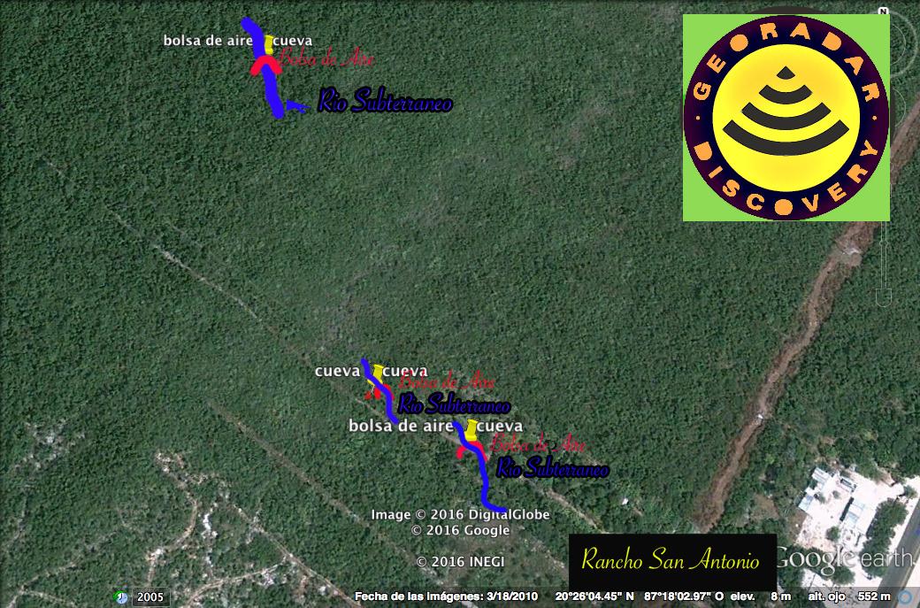 Georadar findet Cenote