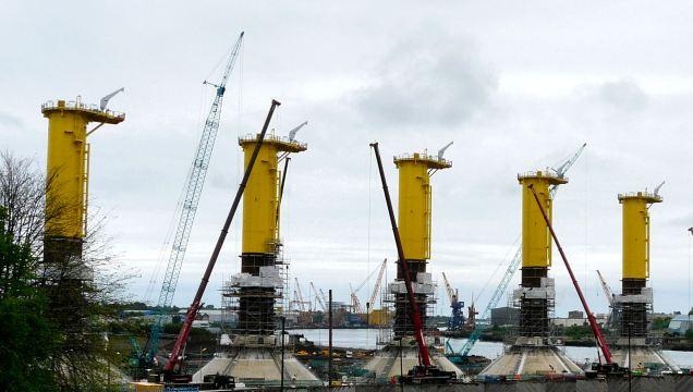Turbine bases W
