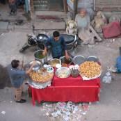 Street vendor, Paharganj