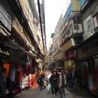 Saree streets, Chandni Chowk market, Old Delhi