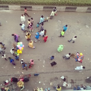 View from above, Paharganj