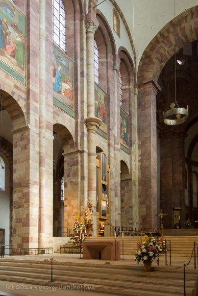 Ostchor des Domes zu Speyer - Bild Nr. 201304140330