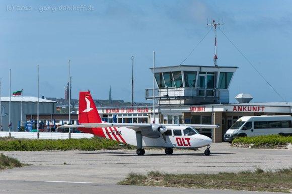 Flughafen Helgoland - Bild Nr. 201306039067