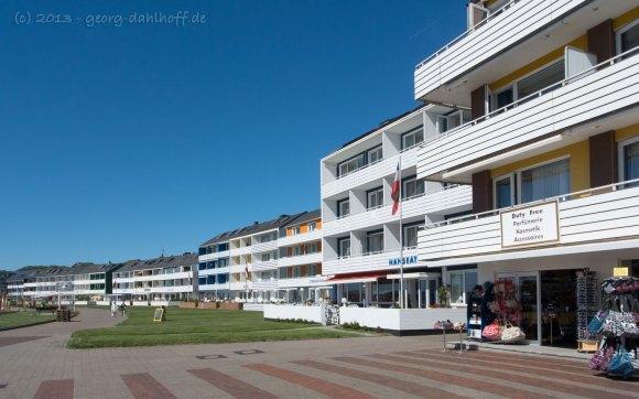 Häuserreihe am Südstrand - Bild Nr. 201306050757