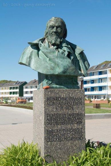 Hoffmann-von-Fallersleben-Denkmal - Bild Nr. 201306050758