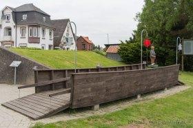 Modell der Fähre von 1847 in Oberndorf (Oste) - Bild Nr. 201306091080