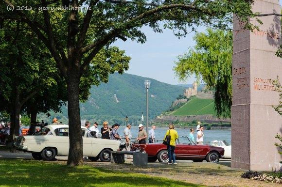 Oldtimershow am Rheinufer - Bild Nr. 201307140189